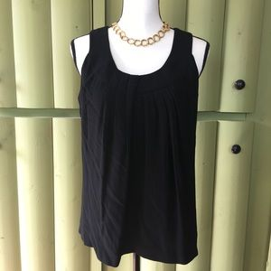 Sleeveless Black Kate Spade Blouse BEAUTIFUL!